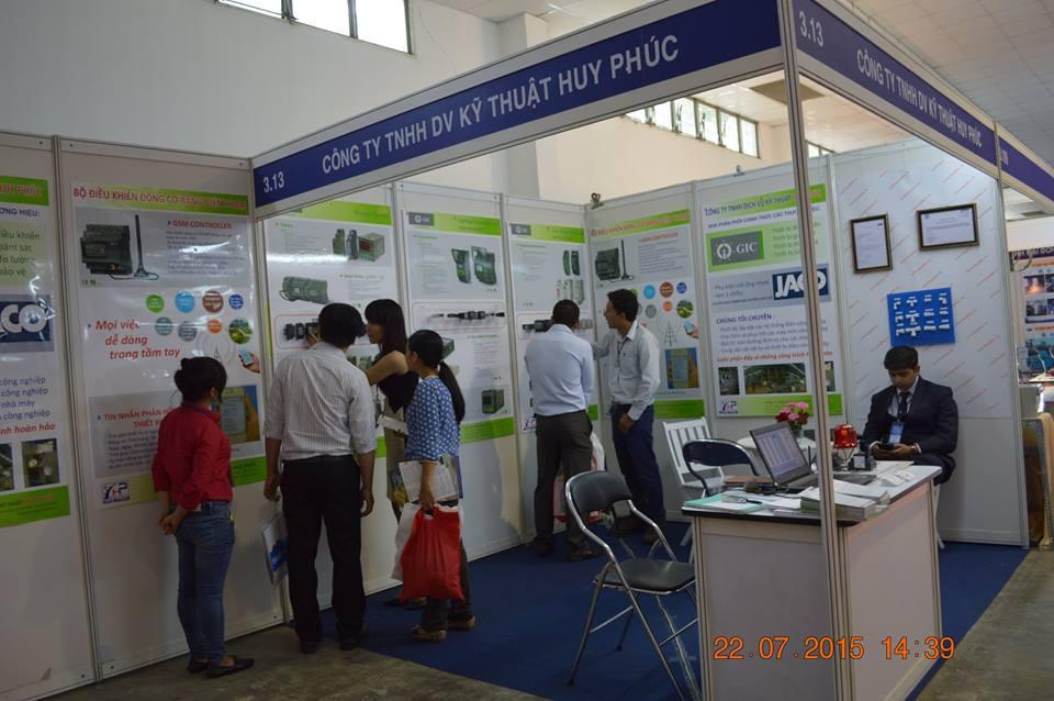 Cty Huy Phuc tham gia trien lam ETE 2015