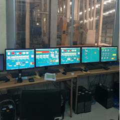 Hệ thống scada điều khiển nhà máy